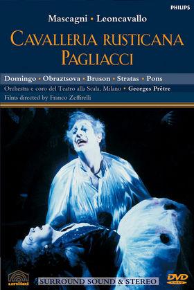 Plácido Domingo, Domingo in Cavalleria rusticana, Der Bajazzo, 00044007042892