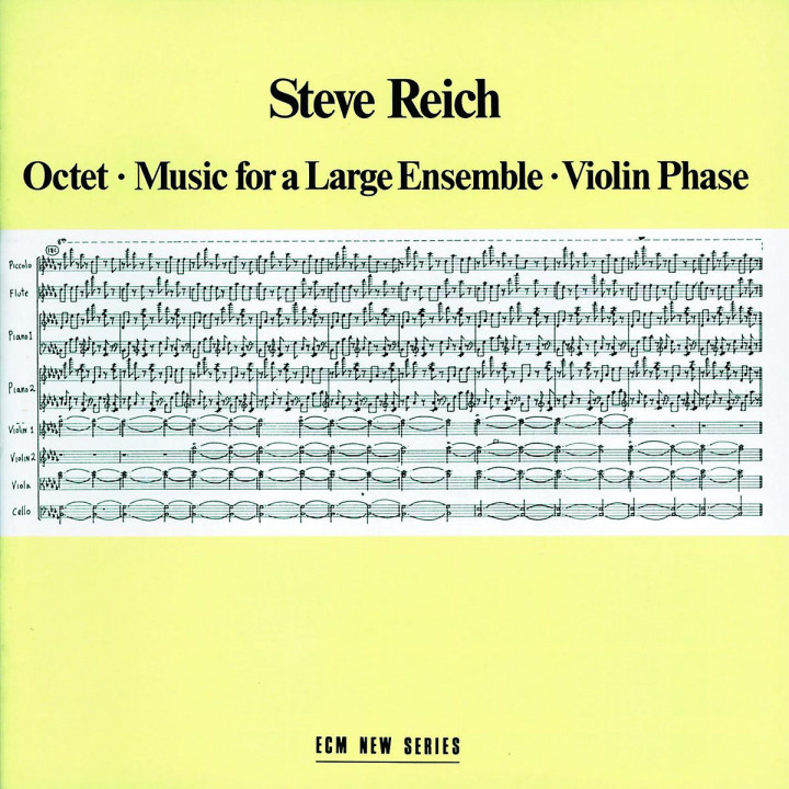 Octet; Music for a Large Ensemble; Violin Phase 0042282728728