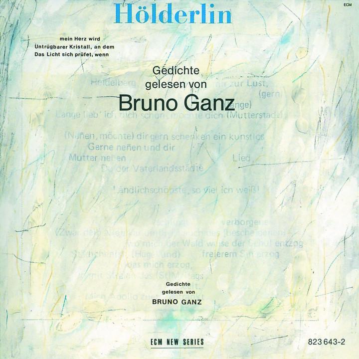 Hölderlin: Geschichte Gelesen Von Bruno Ganz 0042282364320