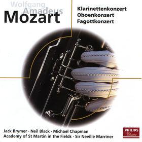 Sir Neville Marriner, Mozart: Clarinet Concerto, Oboe Concerto, Bassoon Concerto, 00028946245828