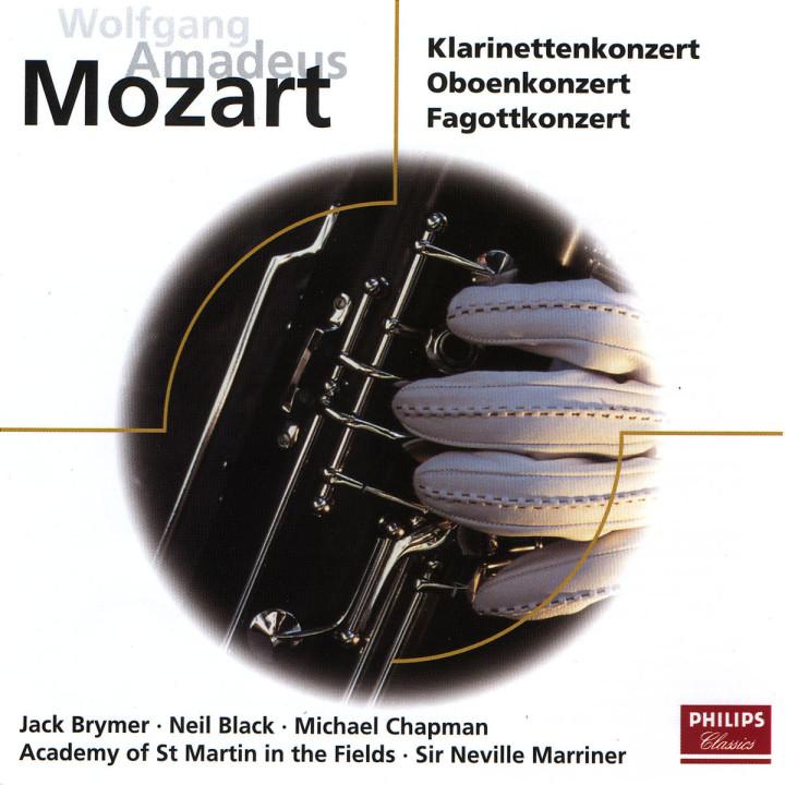 Mozart: Clarinet Concerto, Oboe Concerto, Bassoon Concerto 0028946245828