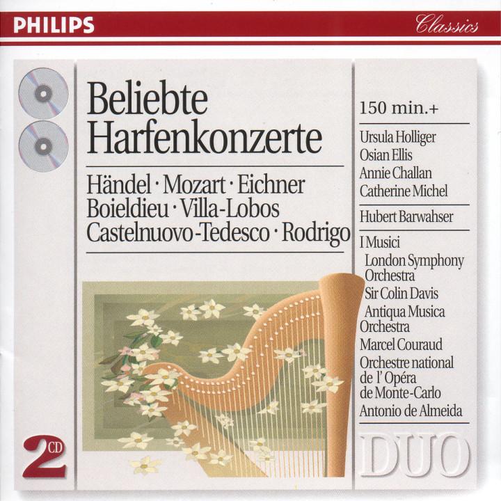 Favourite Harp Concertos 0028946217924