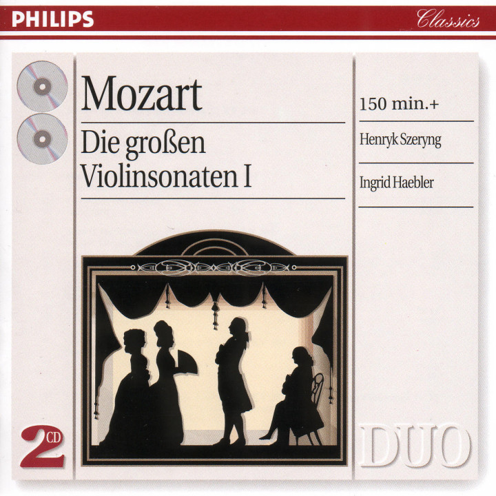 Mozart: The Great Violin Sonatas, Vol.1 0028946218523