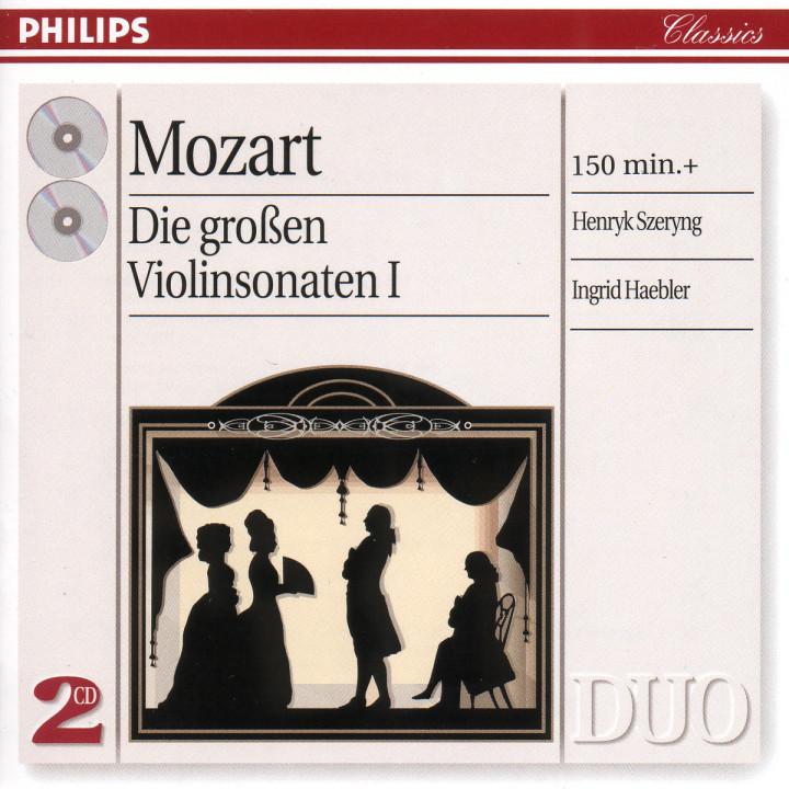 Mozart: The Great Violin Sonatas, Vol.1 0028946218523