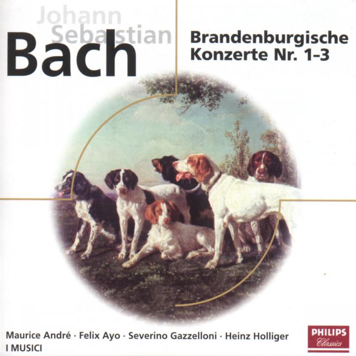 Die Brandenburgischen Konzerte Nr. 1; Nr. 2 und Nr. 3 0028946245024