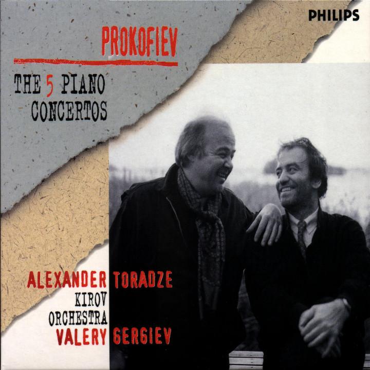 Prokofiev: The Five PIano Concertos 0028946204825