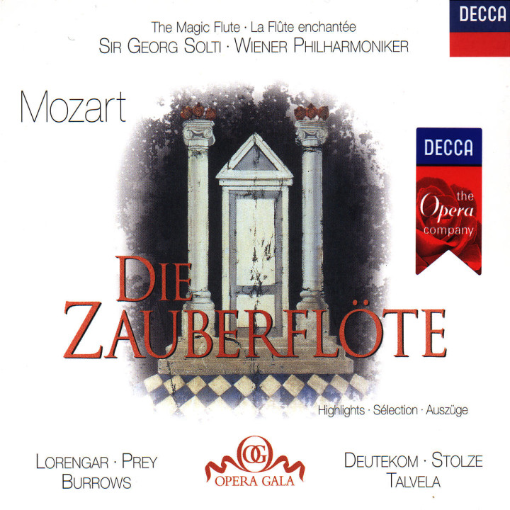 Mozart: Die Zauberflöte - Highlights 0028945821326