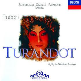 Luciano Pavarotti, Puccini: Turandot - Highlights, 00028945820224