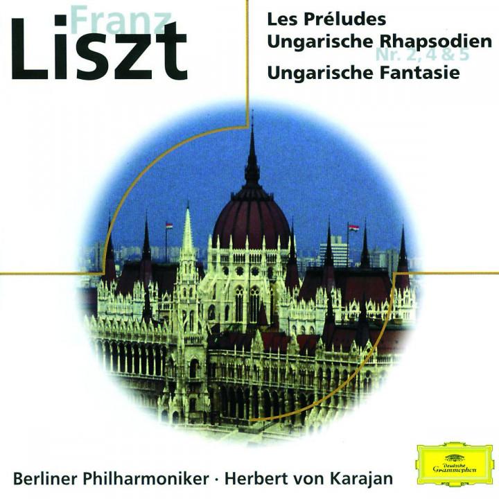 Franz Liszt: Préludes; Rhapsodies No. 2, 4 and 5; Fantasia on Hungarian Folk 0028945793029