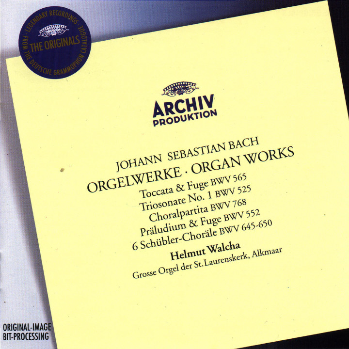 Bach, J.S.: Organ Works 0028945770422