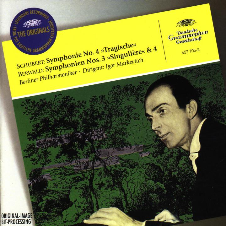 """Sinfonie Nr. 4 c-moll """"Tragische""""; Sinfonien Nr. 3 & Nr. 4 0028945770525"""