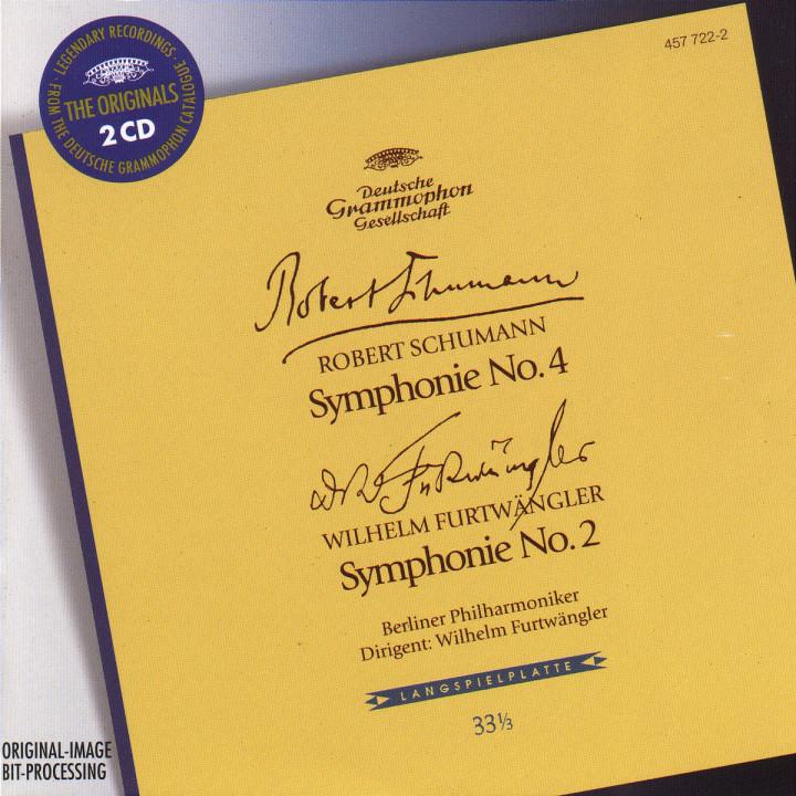 Schumann: Symphony No.4 / Furtwängler: Symphony No.2 0028945772228