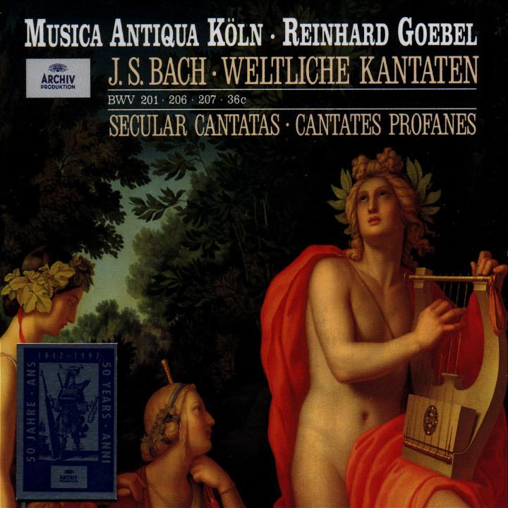 Bach: Secular Cantatas 0028945734826