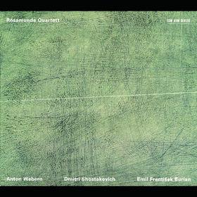 Anton Webern, Langsamer Satz für Streichquartett; Streichquartett Nr. 8; Streichquartett Nr. 4, 00028945706726