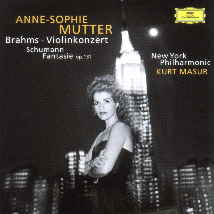 Brahms: Violin Concerto In D Major, Op. 77 / Schumann: Fantasy For Violin And Orchestra In C Major, 0028945707521