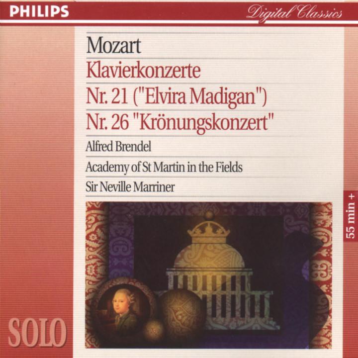 Klavierkonzerte Nr. 21 C-dur KV 467 & Nr. 26 D-dur KV 537 0028945666125
