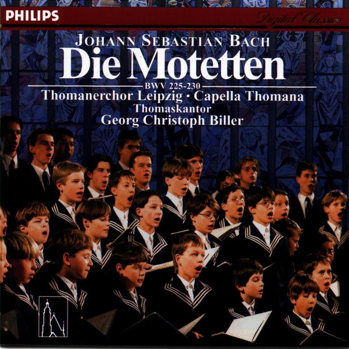 Johann Sebastian Bach: Die Motetten 0028945642228