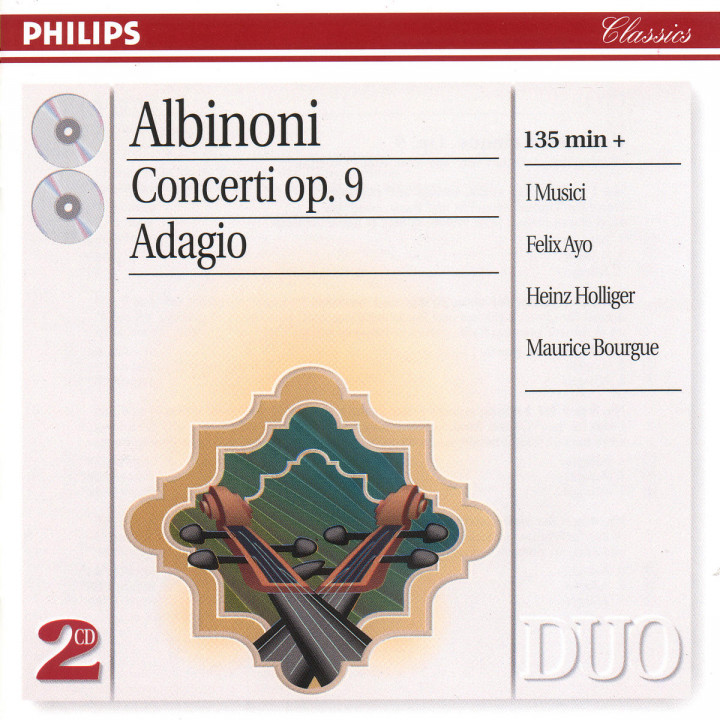 Albinoni: The Complete Concertos/Adagio for Organ & Strings 0028945633329