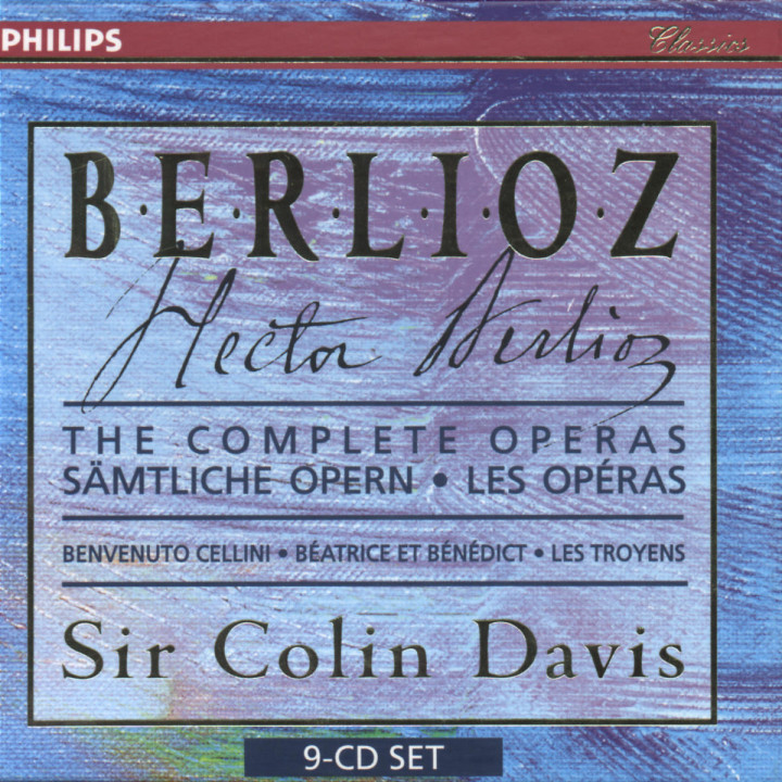 Berlioz: The Complete Operas (9 CDs) 0028945638726