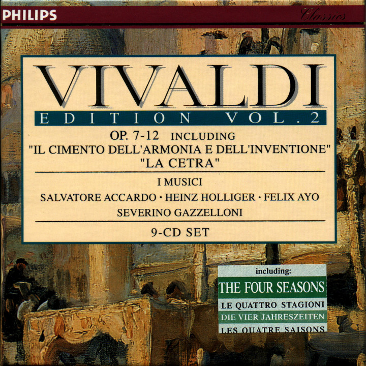 Vivaldi Edition (Vol. 2) 0028945618627
