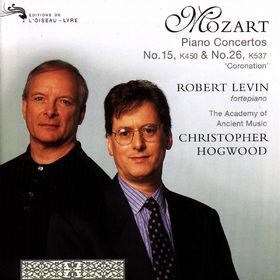Wolfgang Amadeus Mozart, Klavierkonzerte Nr. 15 B-dur KV 450 & Nr. 26 D-dur KV 537, 00028945581422