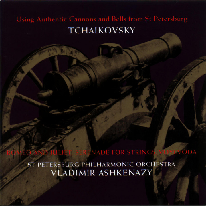 Tchaikovsky: 1812 Overture; Serenade for Strings; Romeo & Juliet Overture etc. 0028945597124
