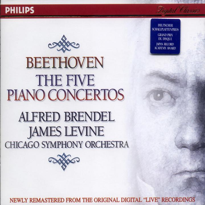 Die Klavierkonzerte 0028945604527