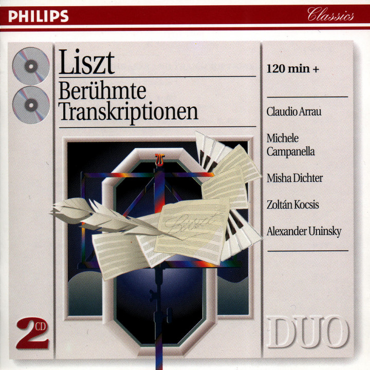 Liszt: The Great Transcriptions 0028945605229