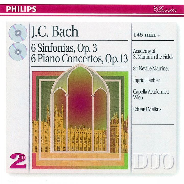 Sinfonien op. 3; Klavierkonzerte op. 13 0028945606426