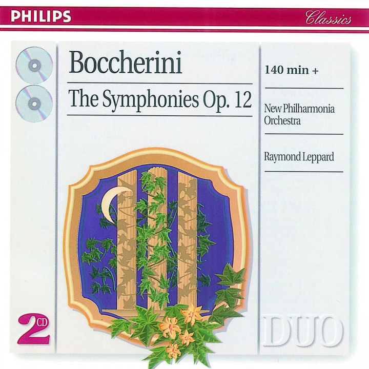 Boccherini: The 6 Symphonies, Op.12 0028945606725