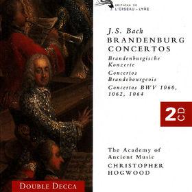 Christopher Hogwood, Die Brandenburgischen Konzerte Nr. 1-6, 00028945570020