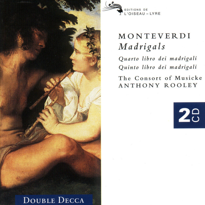 Monteverdi: Fourth and Fifth Books of Madrigals 0028945571823