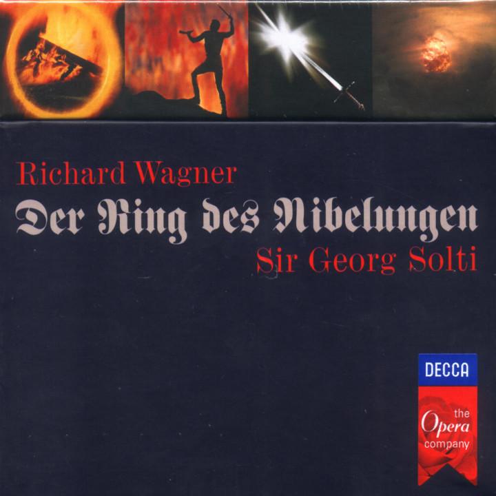 Wagner: Der Ring des Nibelungen 0028945555522