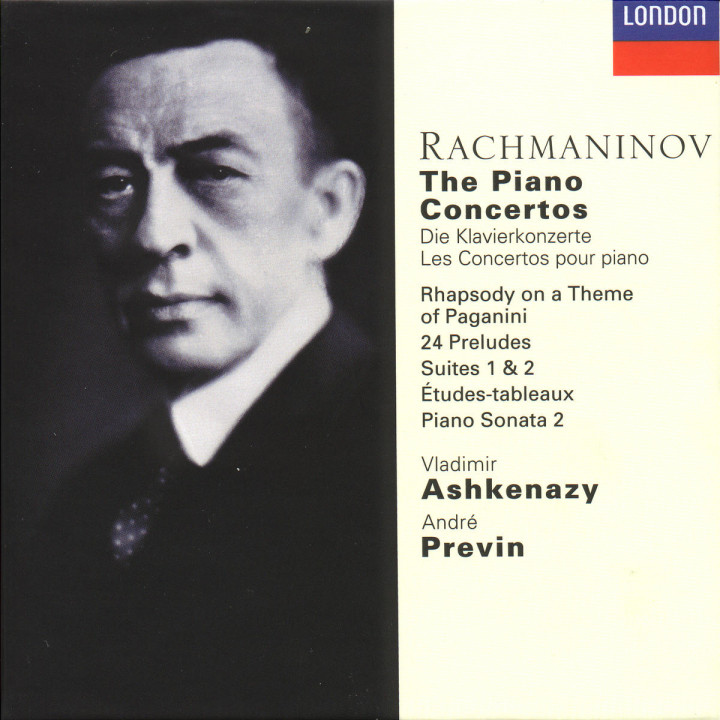 Rachmaninov: The Piano Concertos, etc. 0028945523428