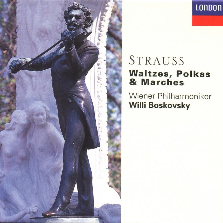 Strauss, J.II: Waltzes, Polkas & Marches 0028945525420