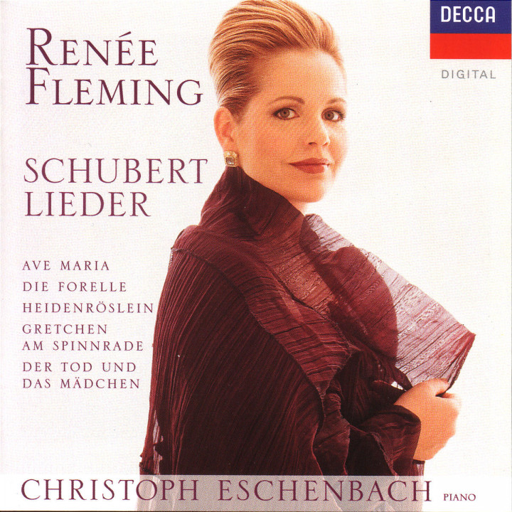Schubert: Lieder - Ave Maria; Die Forelle; Heidenröslein; Gretchen am Spinnrade; Der Tod und das Mä 0028945529424