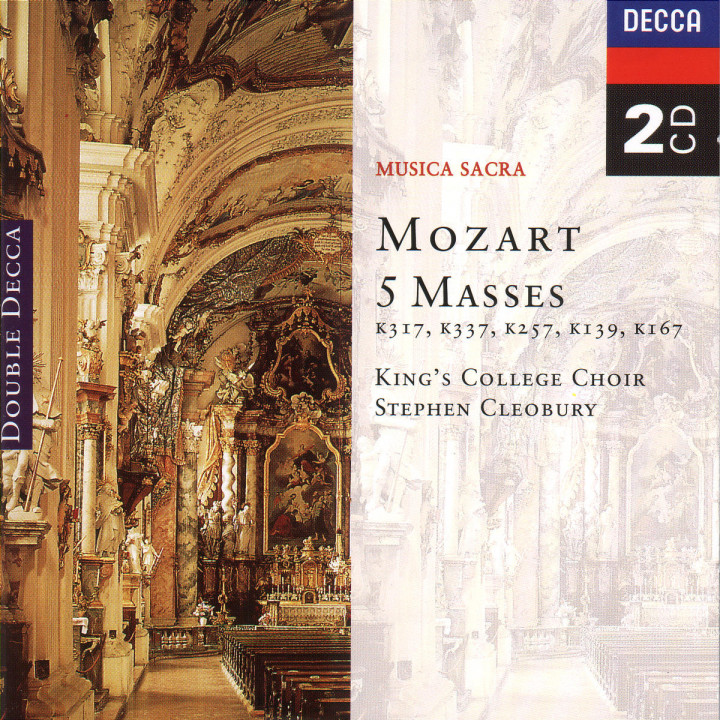 Mozart: Five Masses 0028945503226