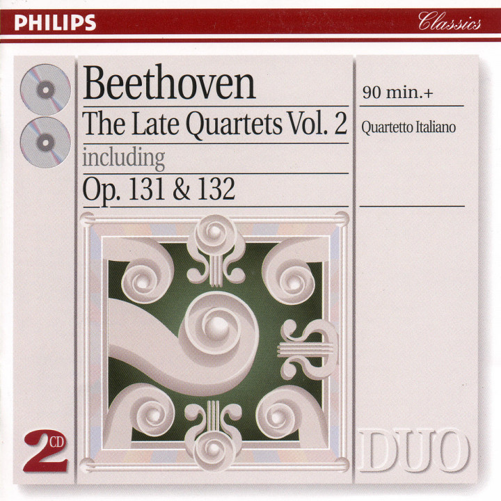 Beethoven: The Late Quartets, Vol.2 0028945471224