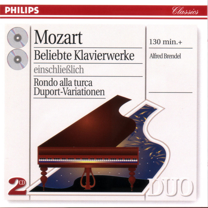 Mozart: Favourite Works for Piano 0028945424428