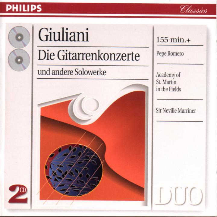 Giuliani: Complete Guitar Concertos 0028945426224