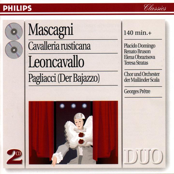 Mascagni: Cavalleria Rusticana/Leoncavallo: Pagliacci 0028945426523