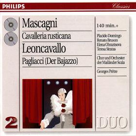 Plácido Domingo, Mascagni: Cavalleria Rusticana/Leoncavallo: Pagliacci, 00028945426525