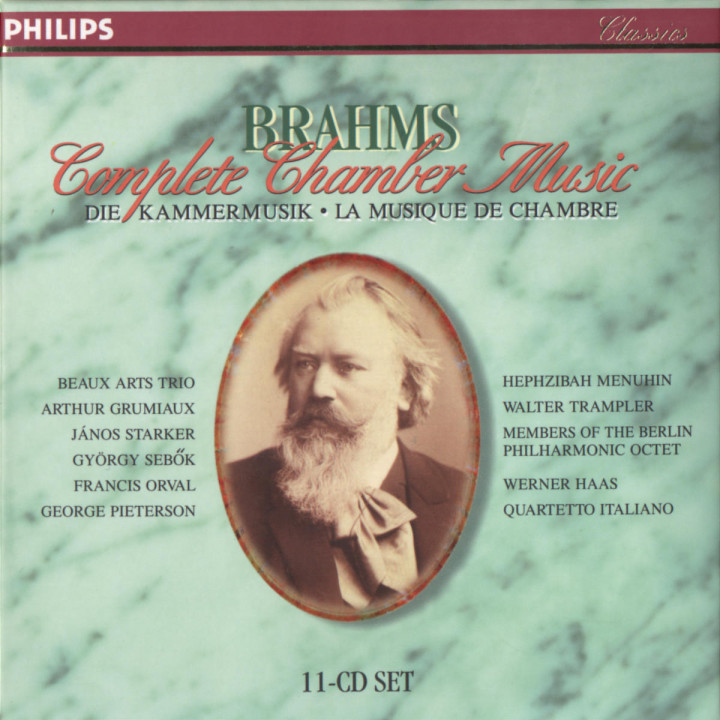 Brahms: Complete Chamber Music 0028945407322