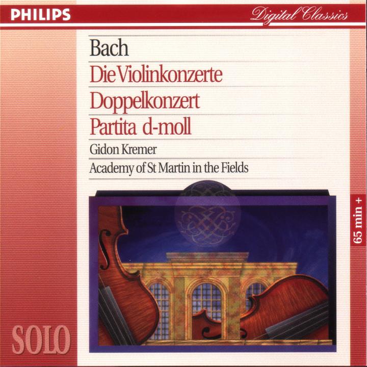 Bach, J.S.: The 2 Violin Concertos; Double Concerto; Partita No.2 in D minor 0028945412825