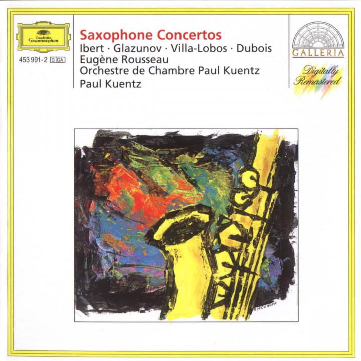 Ibert / Glazunov / Villa-Lobos / Dubois: Saxophone Concertos 0028945399124