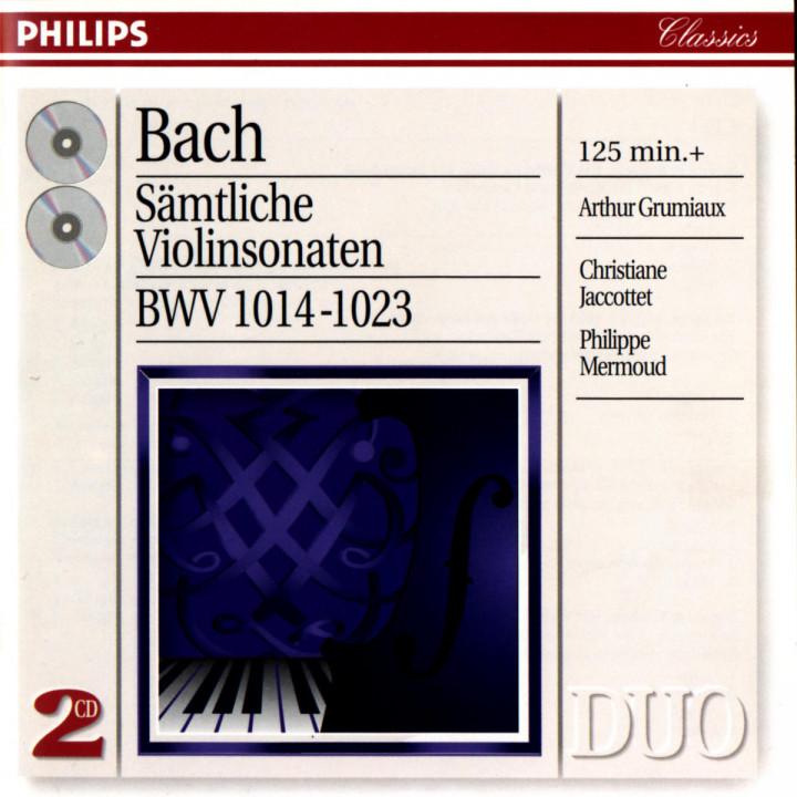 Bach, J.S.: Complete Violin Sonatas 0028945401120