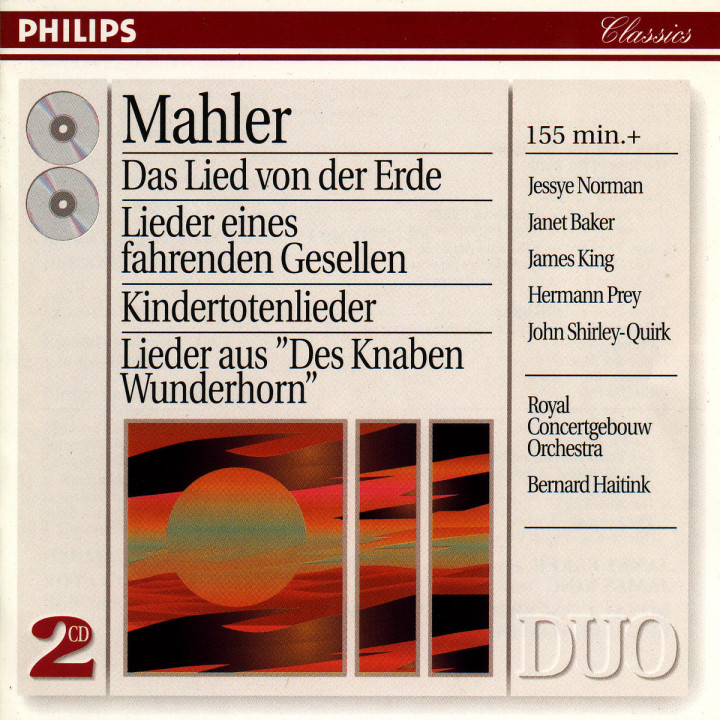 Mahler: Orchestral Songs 0028945401429