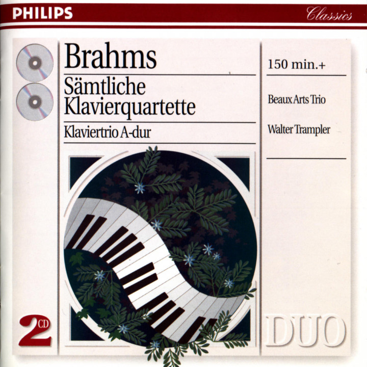 Brahms: Complete Piano Quartets 0028945401728