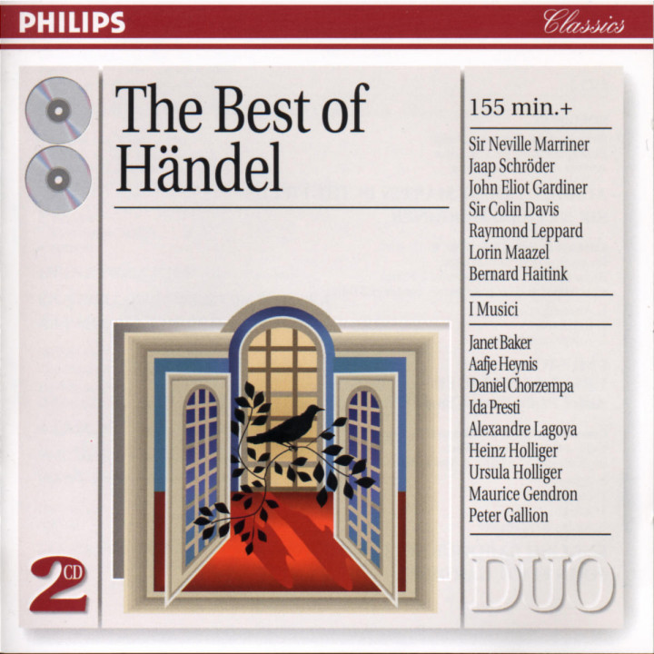 The Best of Händel 0028945402925