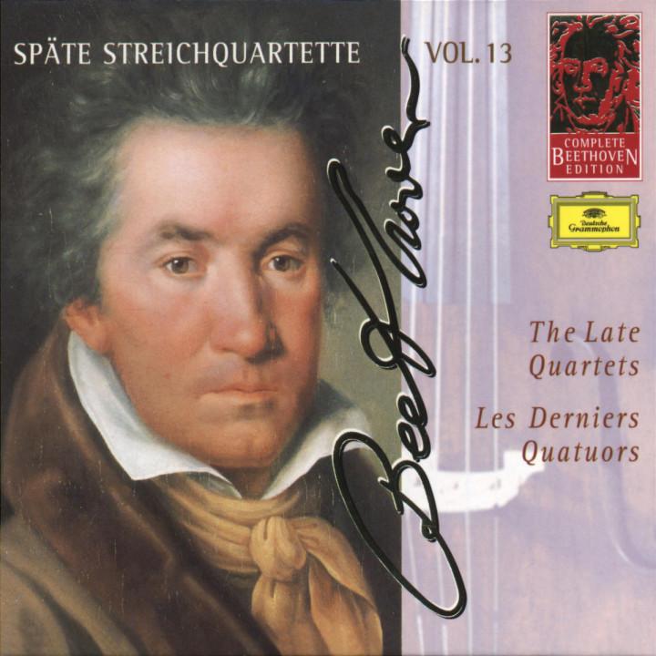 Die späten Streichquartette (Vol. 13) 0028945376826